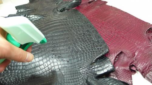 防水クロコダイル原皮