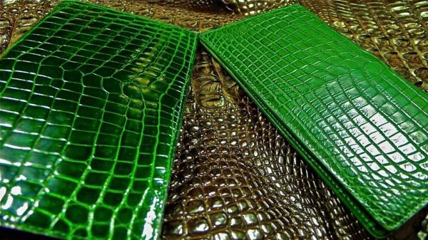 オーダー/クロコダイル薄型長財布