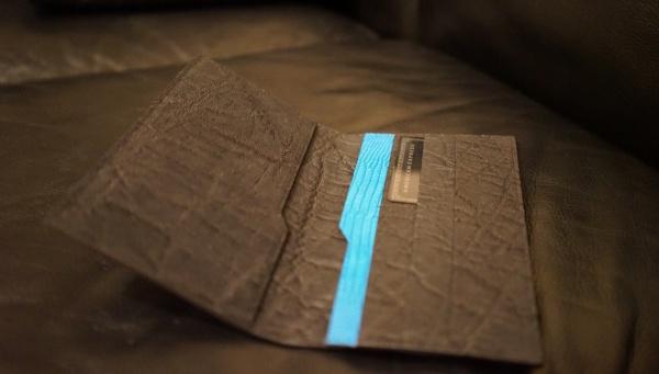 エレファント×リザードの薄型長財布/オーダーメイド