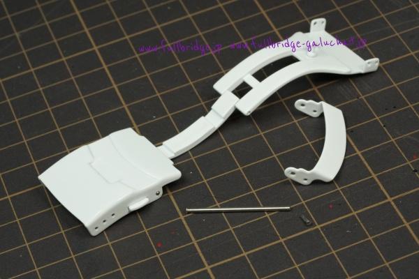 社外ステンテス製Dバックル ホワイトセラミック調 焼付塗装 オーデマピゲ ロイヤルオークオフショアダイバー ホワイトセラミック向け