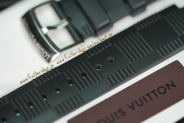 Louis Vuitton/ルイヴィトン・タンブール・純正ラバーストラップ・追加小穴 x 穴開け加工