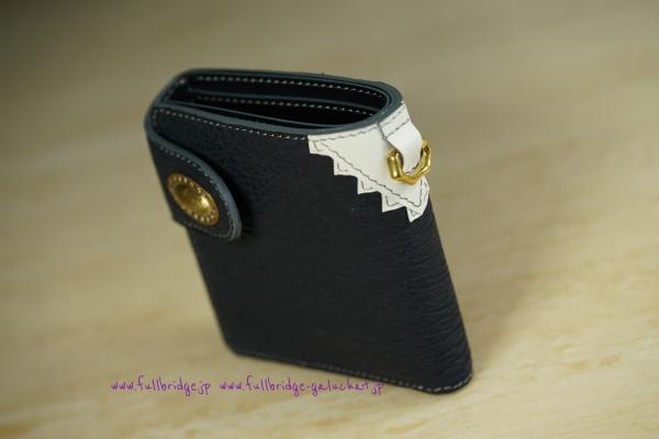 Shark Skin Half Wallet /シャークスキン・ハーフウォレット(2ツ折り財布)・フルオーダーメイド
