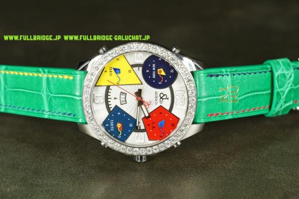JACOB&CO/ジェイコブ&コー・5タイムゾーン/クロコダイル・フルオーダーメイド時計ベルト(ウォッチストラップ)