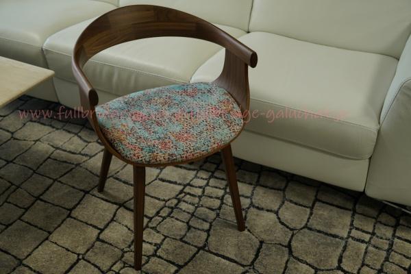オーダーメード家具・ウォールナット椅子(チェア)/完全無機質nanoケイ素高純度ガラスコーティング施工しました。